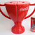 Coca Cola Trophy Shaped Plastic Water Bottle / Cup Set Of 2 - New Unused