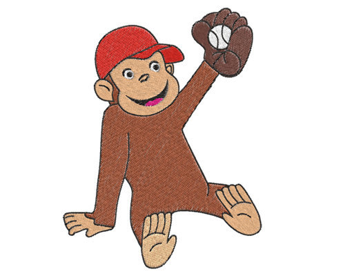 Buy 2 Get 1 Freecurious George Machine By Phoenixembroidery On