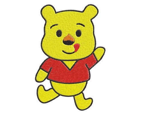 Buy 2 Get 1 Freebaby Winnie The Pooh By Phoenixembroidery On Zibbet