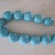 Turquoise Faceted Glass Beads