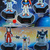 Coca Cola X Gundam 25th Anniversary Can Cap Figures Complete Set Of 12 -