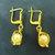 Vintage Estate 14K Yellow Gold Earrings W/ Pearls 4.38g #E827