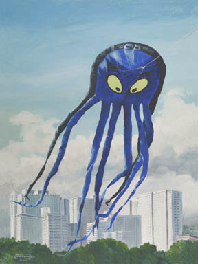"""""""Octopus"""" Giclee Paper Print by Carol Thompson"""