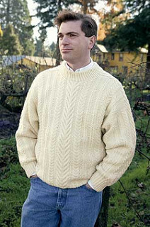 Amra'n Gra (Love Song) Aran Sweater