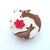 Tape Measure Deer and Flowers Retractable Measuring Tape