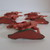 Set of 5 Vintage Hard Plastic Jockey and Horse Cake Decorations Made in Hong