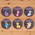 My Little Pony Cupcake Toppers Chalkboard Chevron * My Little Pony Birthday * My