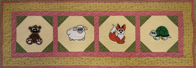 Out on the Farm Wall Hanging/Table Runner