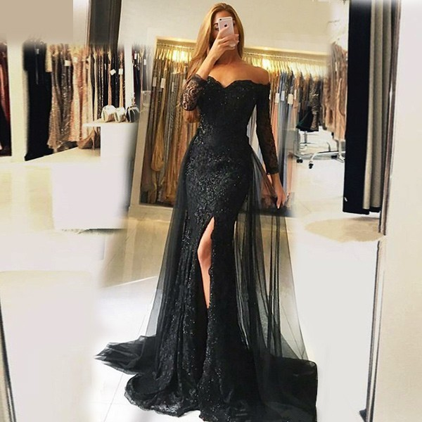 Sexy Prom Dress,Tulle Prom Dress,Prom Dress 2018,Long Prom Dress,Lace Aqqliques