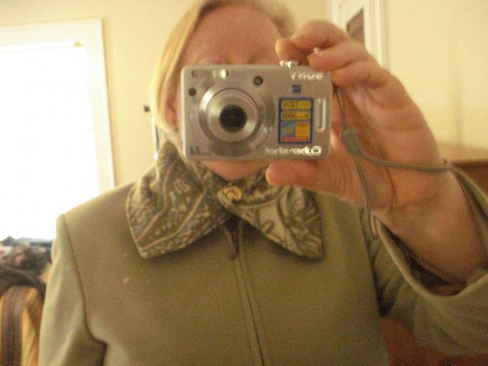 Green, Tan & Cream Paisley Fleece Button Collar/Gaiter
