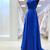 Simple Prom Dress,Sexy Backless Prom Dress,Praty Dress,Prom Dress, Royal Blue