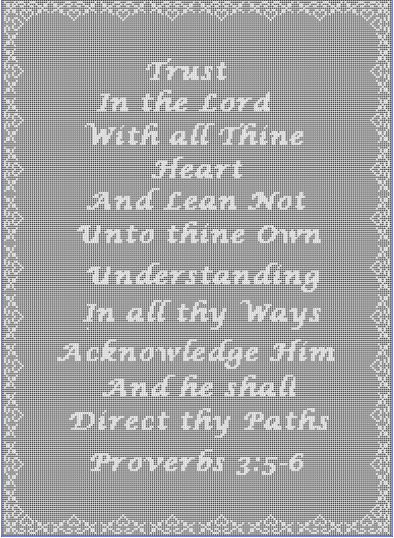 Proverbs 35 6 Filet Crochet By Celinas Crochet Creations On