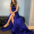 Gorgeous Royal Blue Long Prom Dress with Side Slit dresses
