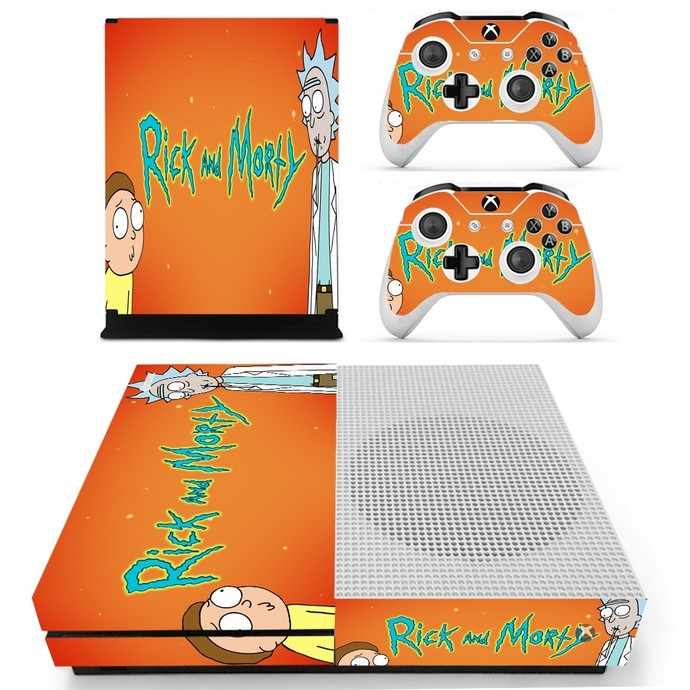 Rick and Morty Xbox one S Skin
