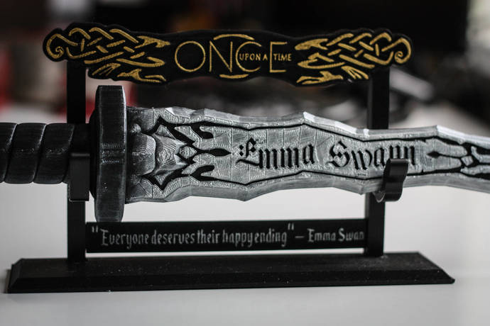 Dark One Dagger | Customizable Name | Personalised | Rumpelstiltskin | Emma Swan