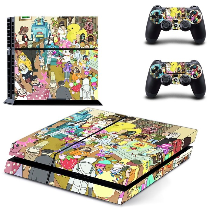Rick and Morty ps4 skin
