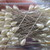 48 x 2 Inch Pearl Teardrop Stickpins