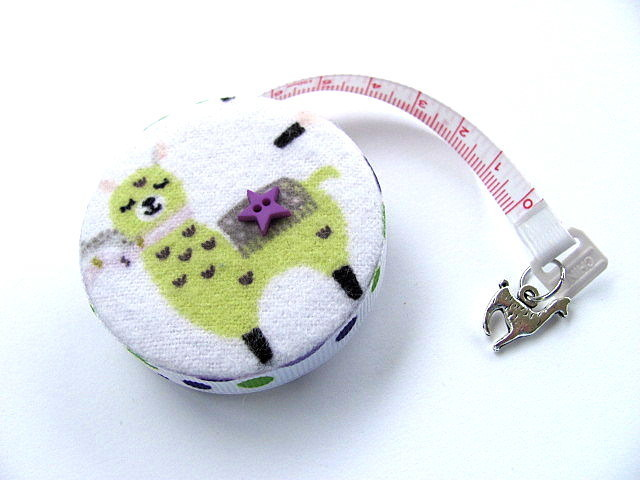 Tape Measure Colored Llamas Retractable Measuring Tape