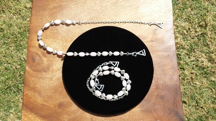 GoGo Fashion Chain - Rose Quartz