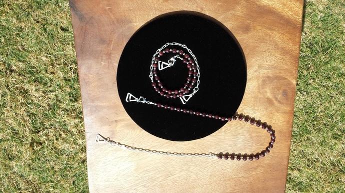 GoGo Fashion Chain - Red Garnet (Dyed)