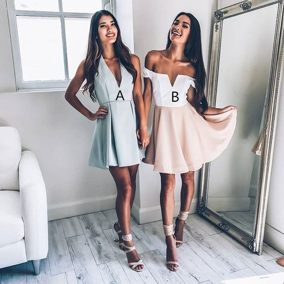 Sexy Short Homecoming Dresses, Short Party Dresses, Sexy Cocktail Dresses