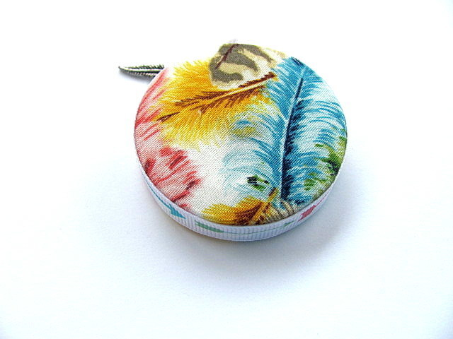 Retractable Tape Measure Feathers Pocket Measuring Tape