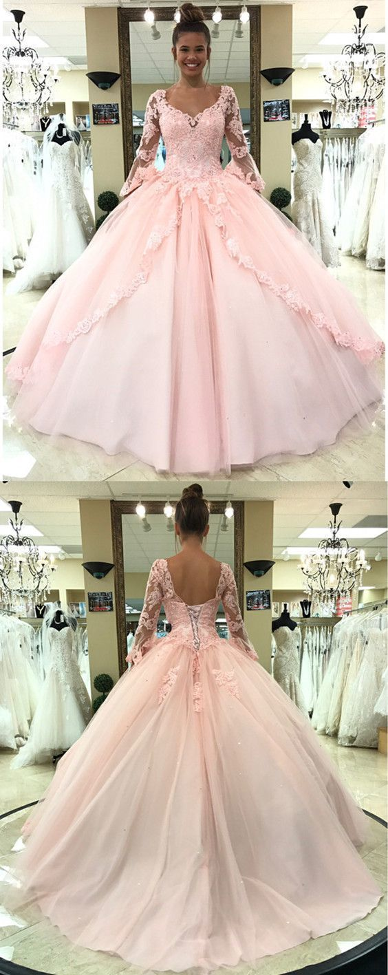 Blush Pink Quinceanera Dresses,Ball Gowns Quinceanera Dress,Sweet 16 Dress,Sweet
