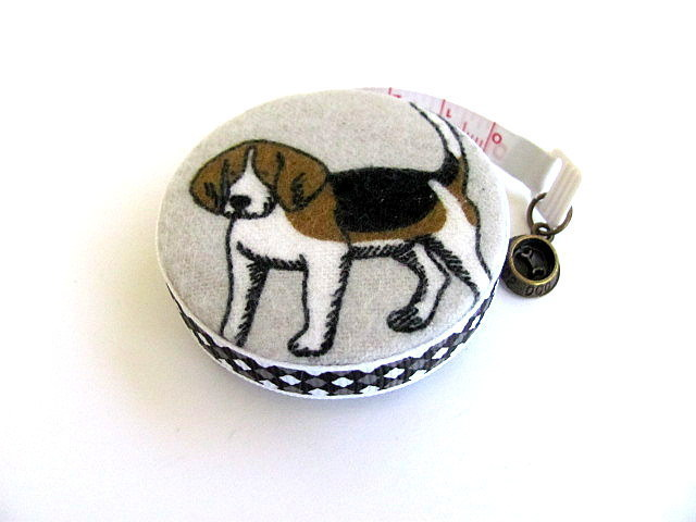 Measuring Tape Beagle Dog Pocket Retractable Tape Measure