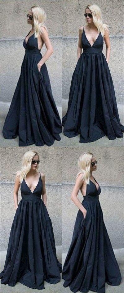 e7b913134b Black Prom Dress