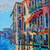 Venice Italy Painting Signed Original Oil Painting Landscape Art Flower painting