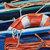 Original Boat Oil Painting Mediterranean Boat Signed Art Sunset Landscape Signed