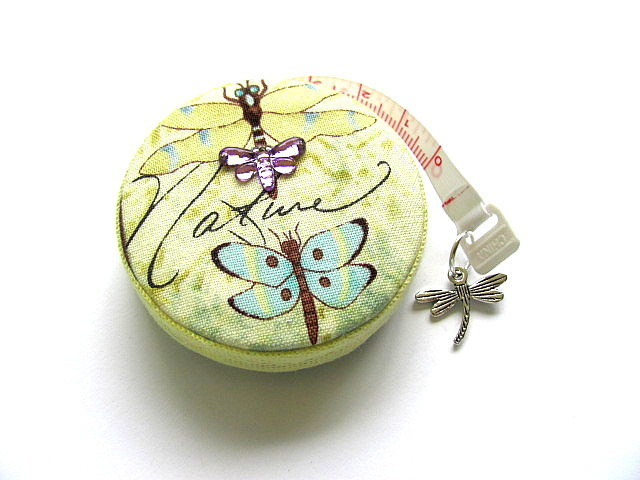 Measuring Tape Nature's Dragonflies Retractable Pocket Tape Measure