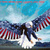 American EagLe FLag Wings Cross Stitch Pattern***LOOK***