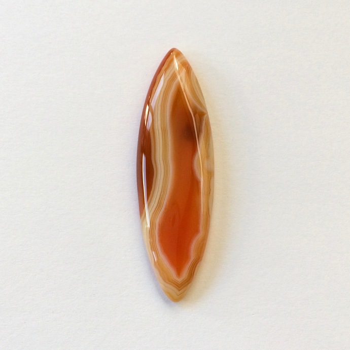 Botswana Agate Gemstone Cabochon Marquise 47x14mm FOR ONE
