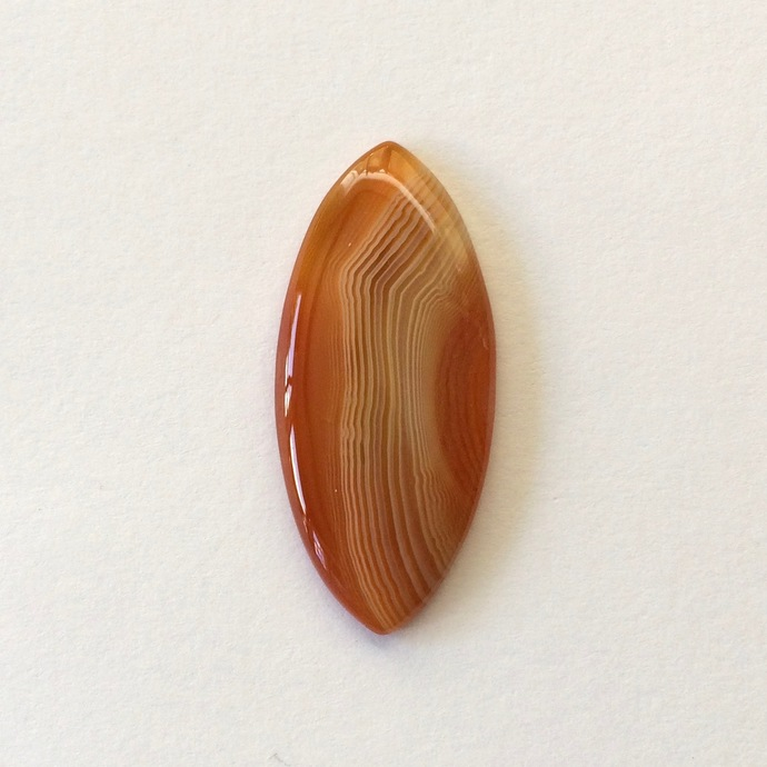 Botswana Agate Gemstone Cabochon Marquise 39x17mm FOR ONE