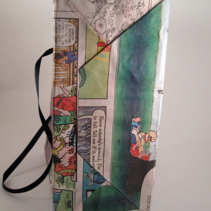 Comic Page Gift or Party Favor Bags