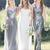 Gorgeous High Quality Mismatched Styles Sequin Long Cheap Wedding Party Dresses