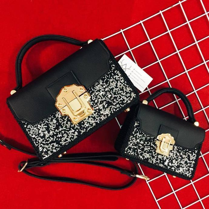Set : Matching handbag for mom and daughter