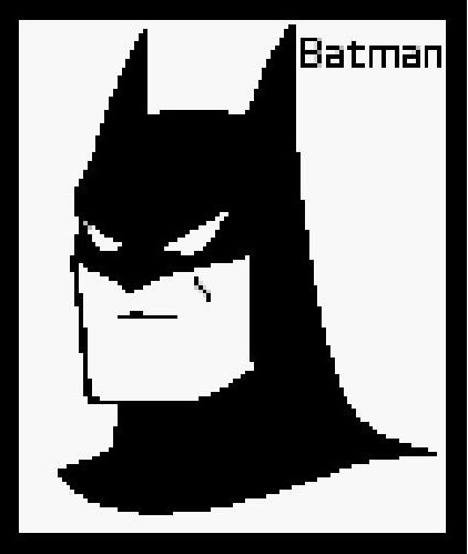 Batman Crochet Pattern  (Graph, SC, C2C, Bobble stitch)