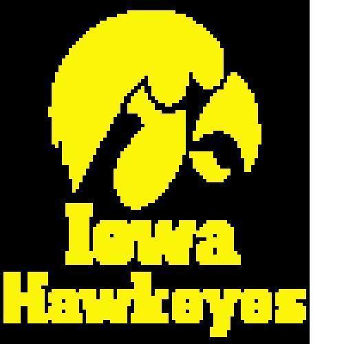 Iowa Hawkeyes Crochet Pattern   (Graph, SC, C2C, Bobble stitch)