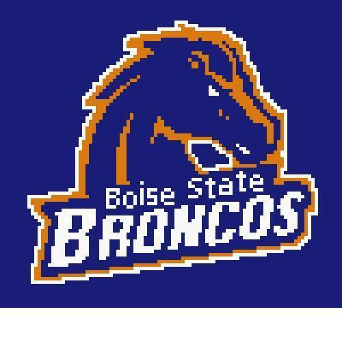 Boise State Broncos Pattern