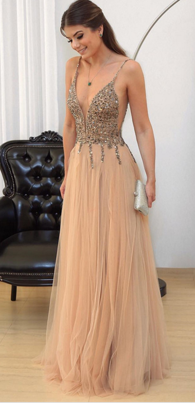 Sexy Newest A-Line Prom Dresses,Long Prom Dresses,Cheap Prom Dresses, Evening