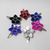 flower hair clip, scale flower, hair accessory, chainmail flower, barrette