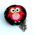 Measuring Tape Red and Green Owls Retractable Pocket Tape Measure
