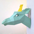 DIY Giraffe Papercraft, Giraffe papercut template, Giraffe gift, 3d papercraft,