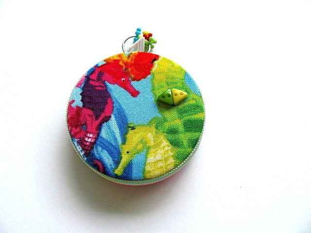 Tape Measure Rainbow Sea Horses Retractable Pocket Measuring Tape