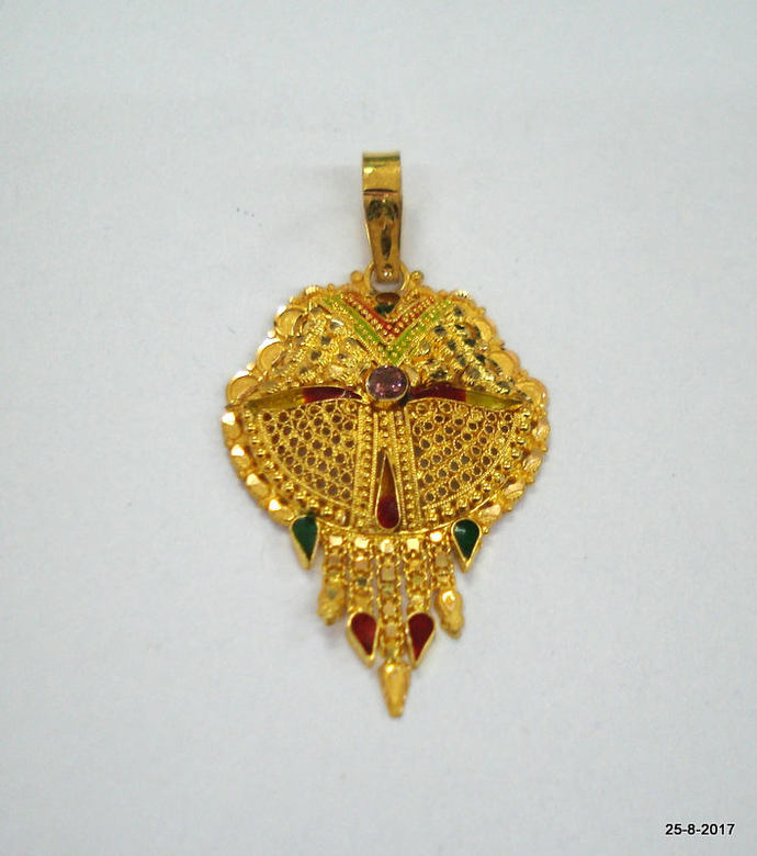 pendant quot amp hallmark jisha lkt initial the buy in r a mjeyma bis product gold