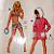 Burda 01233 Vintage Girls Swimsuit Pattern