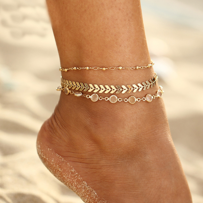 the hunt cool this anklet on