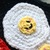 READY TO SHIP Kawaii Bacon and Eggs in Skillet Hot Pad - Crocheted, Amigurumi